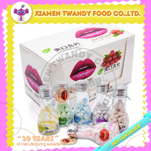 Vitamin C refreshing compress candy tablet