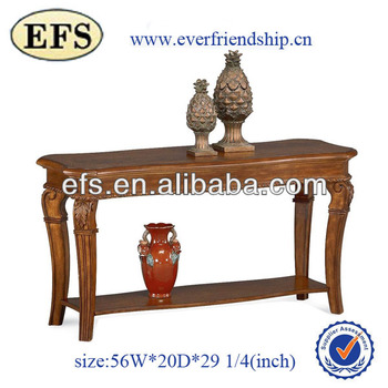 antique wood sofa table(EFS-163508)