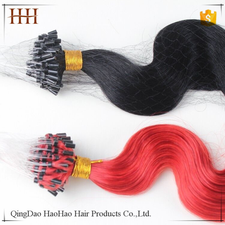 Highest quality wholesale factory 8a 9a top remy 30 inch micro ring hair extensions