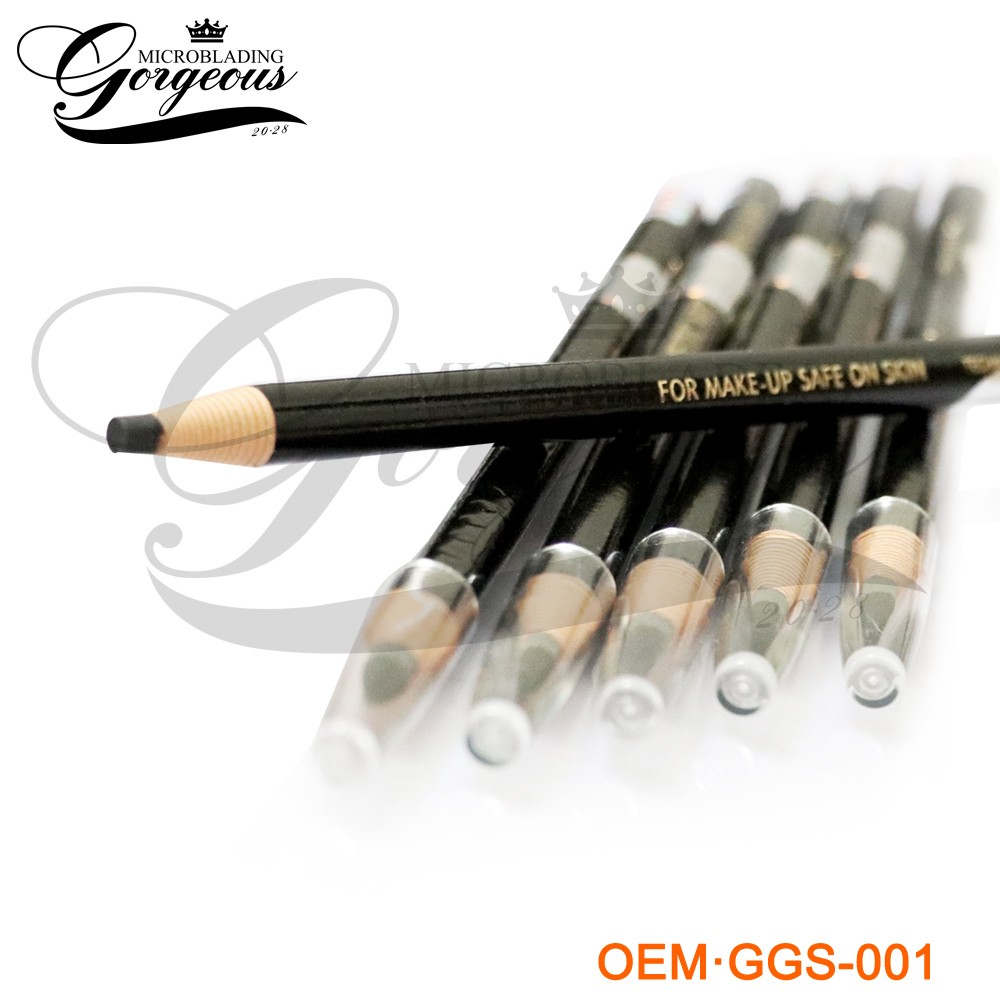 Waterproof Eyebrow Makeup Pencil, Private Label Eyebrow Pencil For Permanent