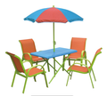 Garden leisure patio set