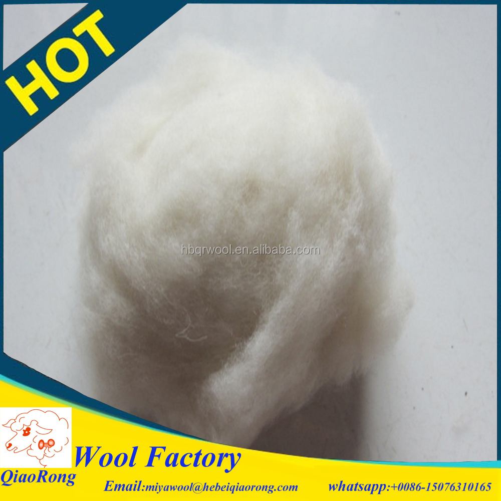 pure wool for felting making wool for quilt filling