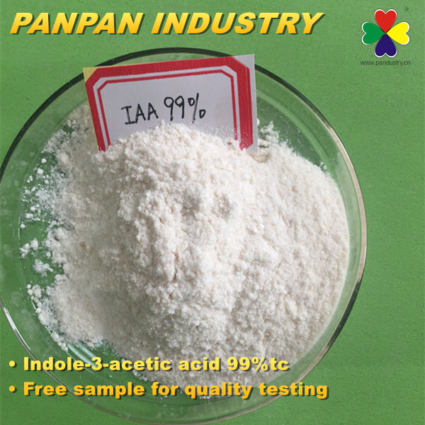 Indole 3 acetic acid IAA 99%tc Plant growth regulator Pesticide IAA Chemicals