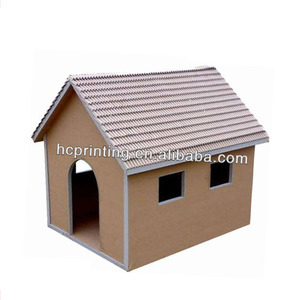 New design Corrugated Cardboard Cat House
