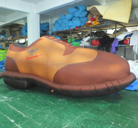 custom replica outlet leather giant inflatable shoe for advertising