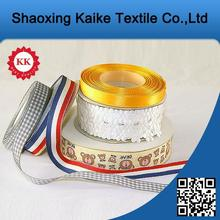 Best selling Shaoxing supplier Satin celebrate it ribbon