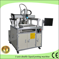LCD screen AB epoxy resin filling machine/3 axis automatic dispensing mechanical arm