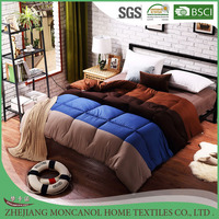 new design gradient color warm cotton winter patchwork quilt