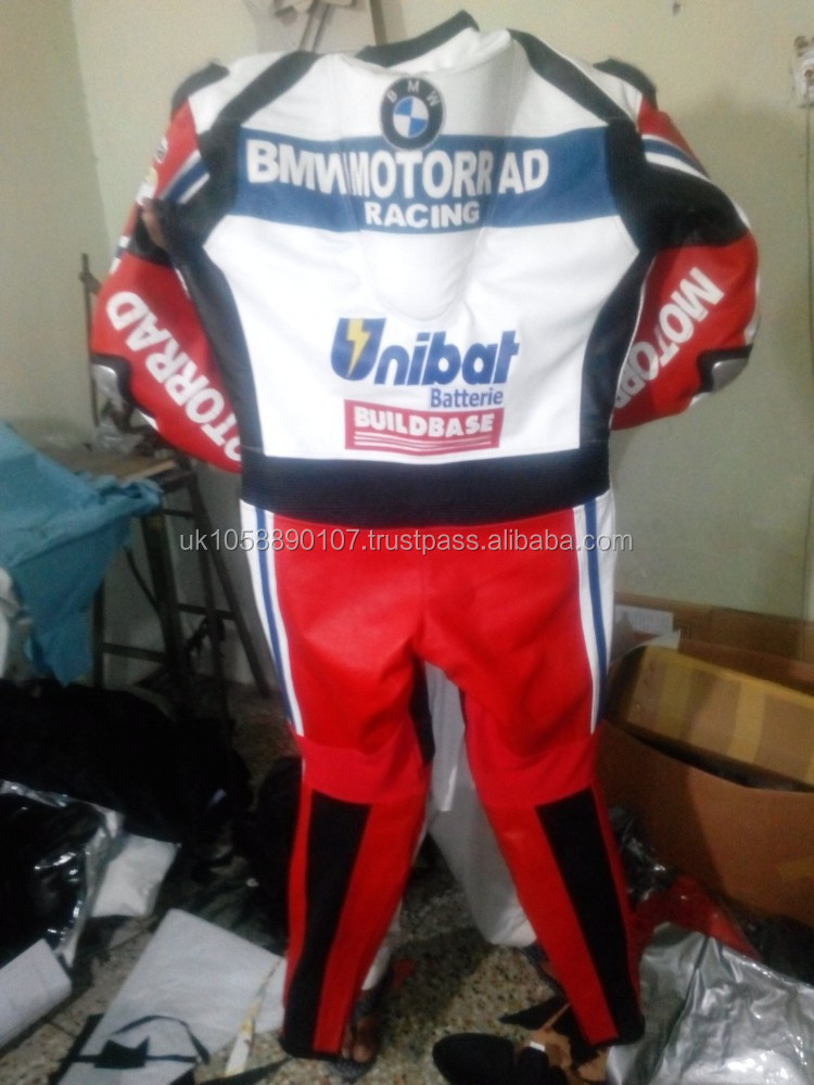 1&2 piece leather motorbike motorcycle racing suit one piece leather