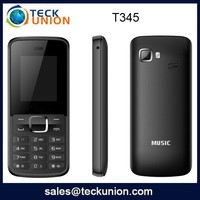 T345 Made in China 1.77 inch dual sim card call bar quad band mobile phone