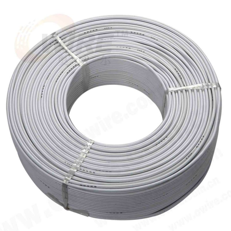 White jacket RG 58 1.0mm coaxial cable