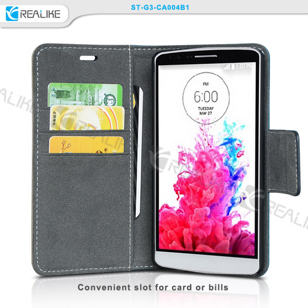 Hot selling For lg g3 g4 cell phone case, leather case for lg, for lg phones