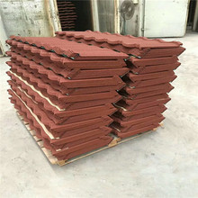 color insulation stone coated zinc roof tile price