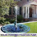 Pond Pump Solar Fountain Pump Water Fountain For Garden Pond Or Fish Tank