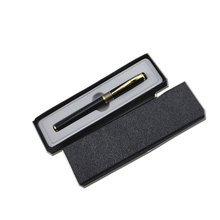 Luxury professional design paper cardboard black pen packaging gift box