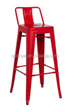 High vintage industrial metal chairs painted stool bar chair