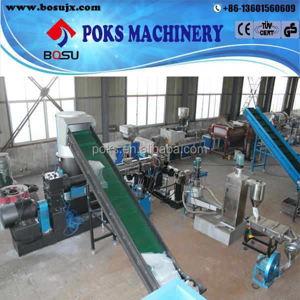 high quality and capacity plastic film pelletizer machine