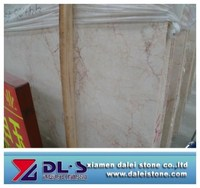 Sale White Marble Brown Veins Polished Big Slabs