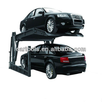 tilt platform car parking lift