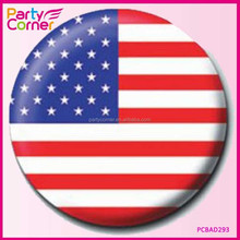 USA Button Badge Stars Stripes National Flag Badges