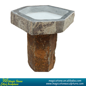 Stone bird bath bowl suppliers and manufactures