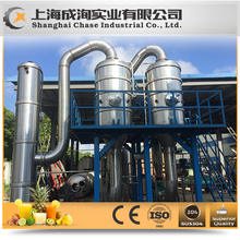 High efficient energy saving three-effect falling film evaporator