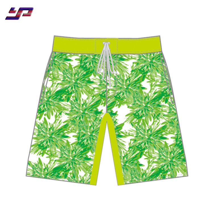 Wholesale men women's swimming trunks quick-dry surf board beach shorts