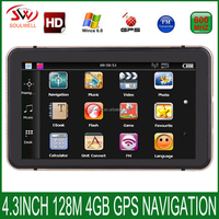 2016 Hot Sale Cheapest 7 inch Portable Car GPS navigation High quality OEM Manufacturer truck GPS Navigator
