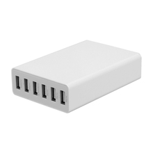 50W 6 USB Ports Small Size battery charger