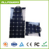 High efficiency SunPower cell Semi Flexible solar panel 100W 200W for boat cabin tent RV