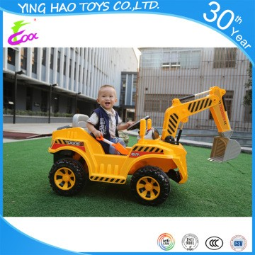 Kids Toy Car Battery Operated Ride On Car Electric Ride On Digger