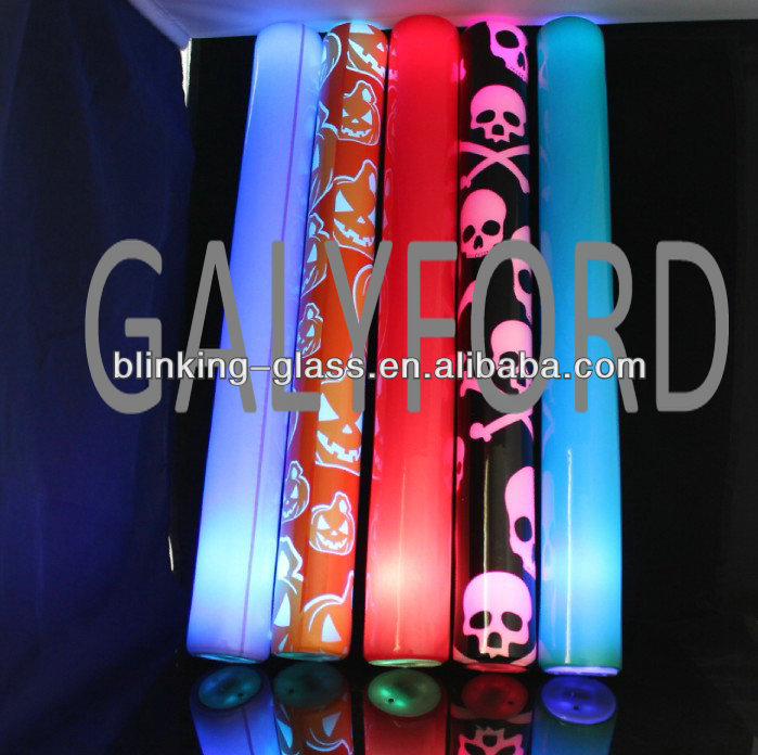 Cheering LED flashing colorful led foam stick