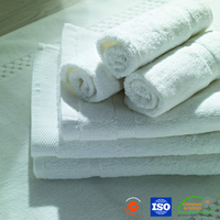 High Quality Combed Cotton White Towel For Hotel