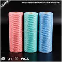 Wholesale Products Household Spunlace Kitchen Dish Cleaning Nownoven Perforated Roll