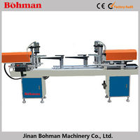 Aluminum and pvc door frame hinge boring machine