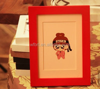 Wholesale ex-factory price high quality quality open hot girl photo sexy women japan nude girl picture frame wood frame
