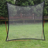 Adjustable Soccer Goal Rebound Net Sport
