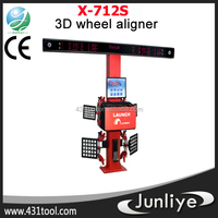 Stable and durable LAUNCH X-712S 3d used manual wheel alignment machine