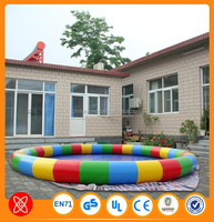 CE Approval durable material inflatable swimming pool inflatable palm tree pool float