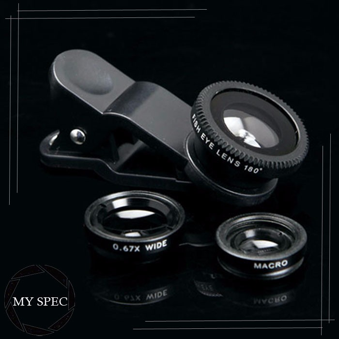 Top-grade aluminum multifunction zoom on camera lens for phone lens