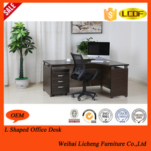 Newest selling different types wooden frame office desks