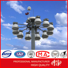 ODM / OEM Galvanized Decorative Light Pole For Street , Road , Square