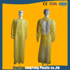 products light weight yellow disposable plastic cpe gown