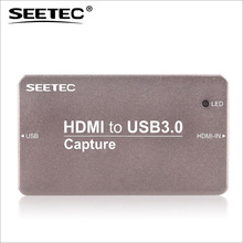 Seetec aluminum case design 1080p/60 usb video capture adapter for tv games