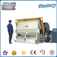 High quality Heaving duty paper Creasing and die cutting machine