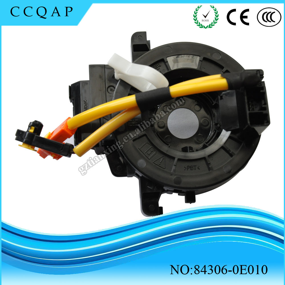 84306-0E010 High quality automobile spare parts low price spiral cable sub-assy clock spring airbag for toyota