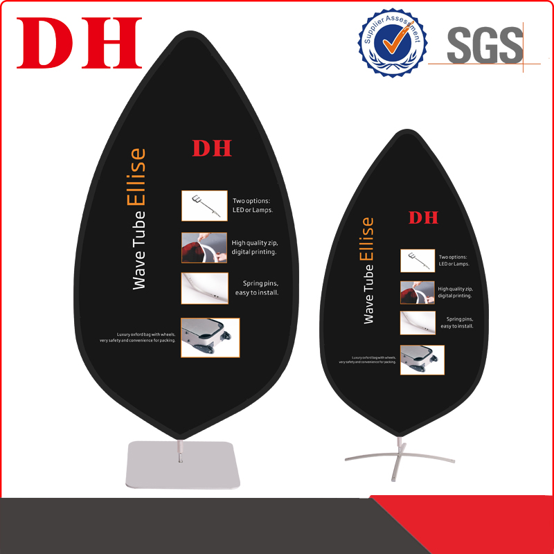 roll up pvc flex banner size of wave tube ellise