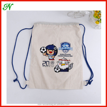wholesale drawstring bags muslin cotton organic fabric