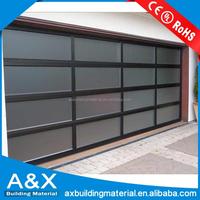European Style Glass Garage Door