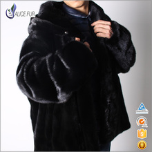 Popular Genuine Mink Fur Coats/men's Winter mink fur coat/fur coats for women
